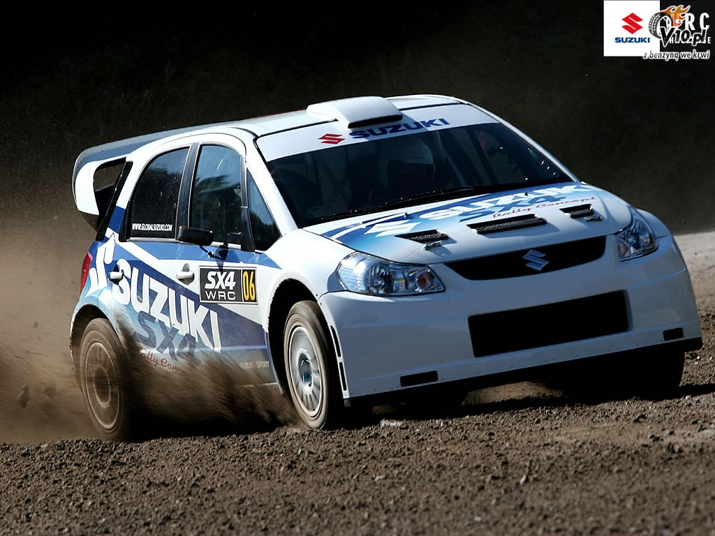 Suzuki SX4 WRC Wallpaper