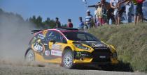 Ho�ek zamkn�� dziesi�tk� w WRC-2 w Rajdzie Polski.