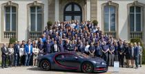 Bugatti Chiron - setny egzemplarz opuścił fabrykę