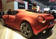 Alfa Romeo 4C Concept na targach w Genewie