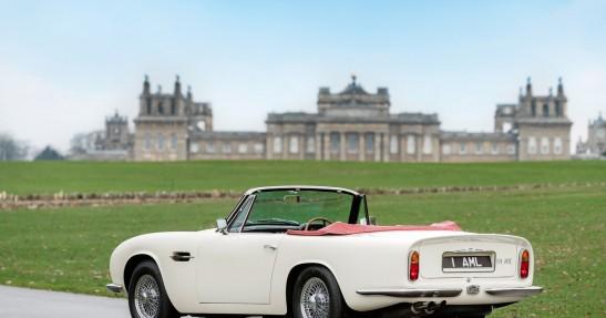 Aston Martin Heritage EV Concept