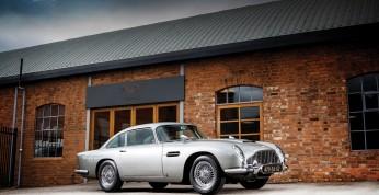 Aston Martin DB5 Bonda sprzedany za ponad 6 mln dolarów
