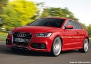 Nowe Audi A3 2011 - wizualizacja