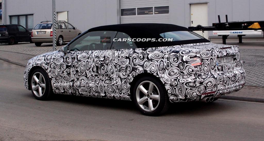 Audi a3 cabrio spy 5