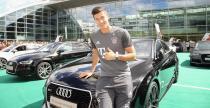 Robert Lewandowski rozpocznie nowy sezon za k�kiem Audi RS7