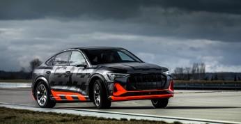 Audi E-Tron S - nadchodzi sportowa wersja elektrycznych SUVów