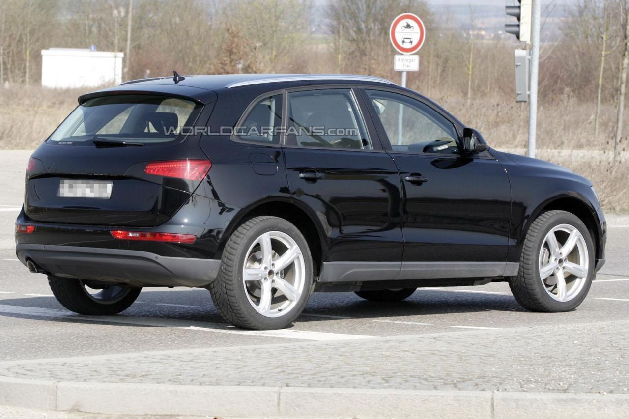 Audi q5 facelift 2012 3 for Interior design 77379