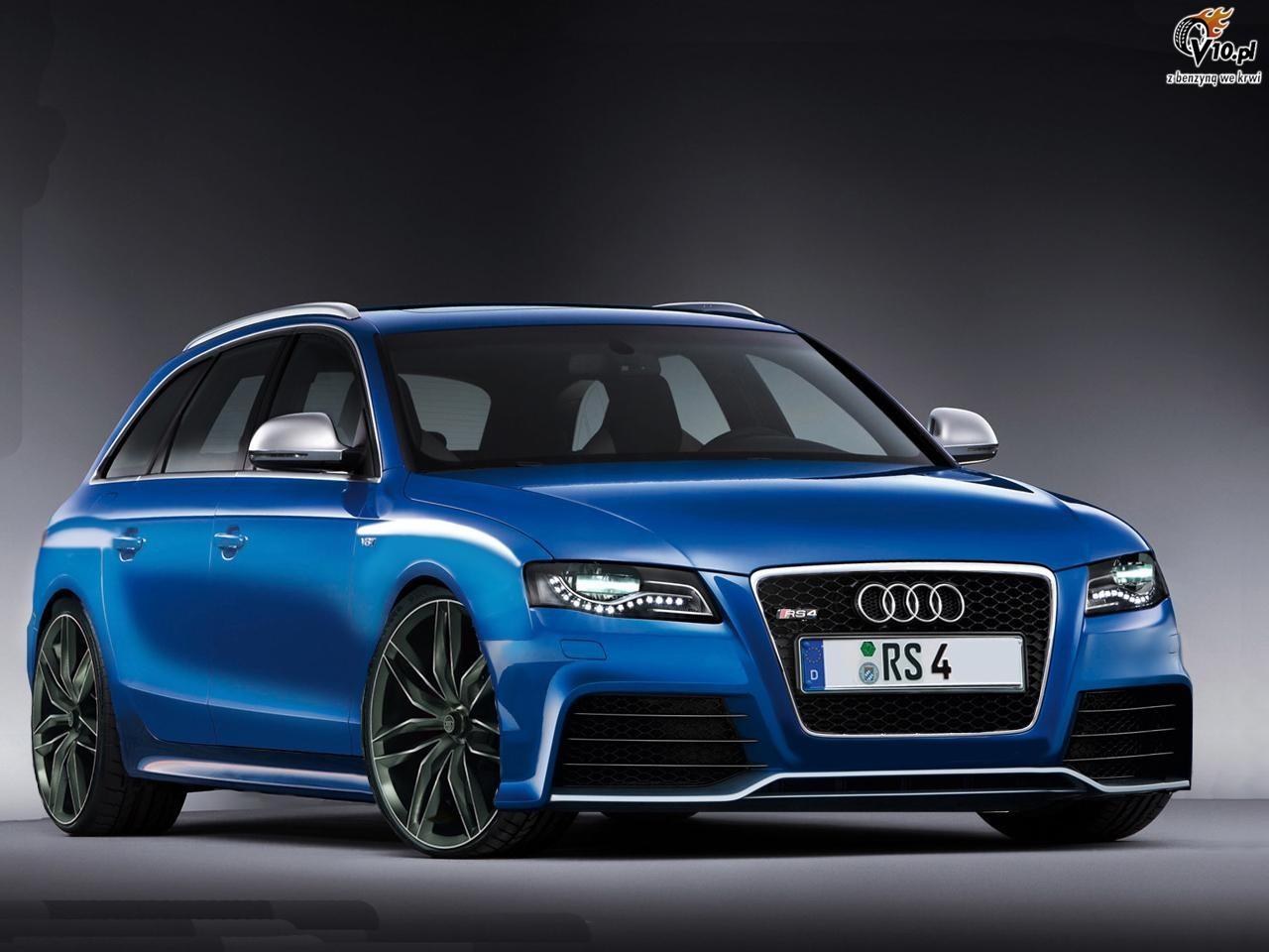 Audi Rs4 Render