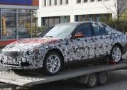 Nowe BMW serii 3 2012 - zdjęcie szpiegowskie