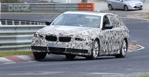 Nowe BMW serii 5 przyłapane podczas testów