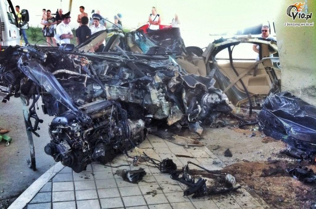 Bmw E60 Russia Crash 10