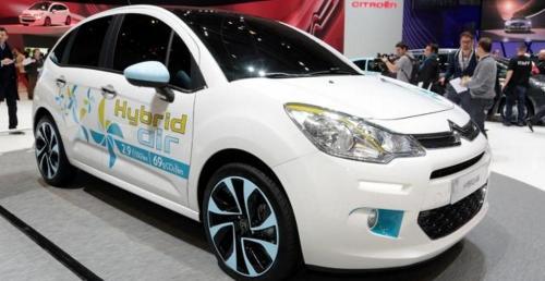 citroen c3 hybrid air auto na powietrze. Black Bedroom Furniture Sets. Home Design Ideas