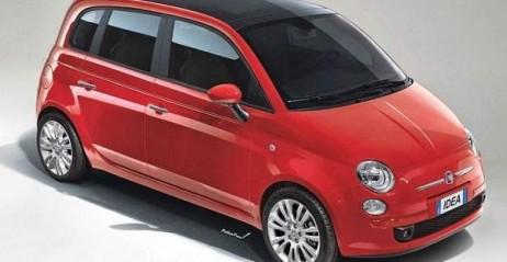 Nowy Fiat 500 Fiat 500 Wersja 5-drzwiowa