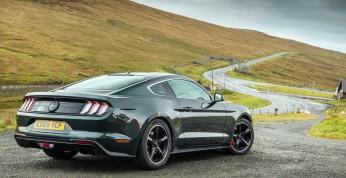 Ford Mustang Bullitt wdzięczy się na drogach Isle of Man