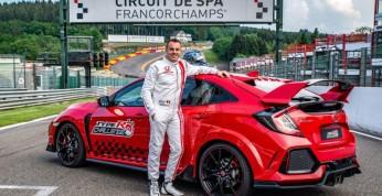 Honda Civic Type-R pobija kolejny rekord toru