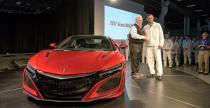 Pierwsza Honda NSX wyjecha�a z fabryki