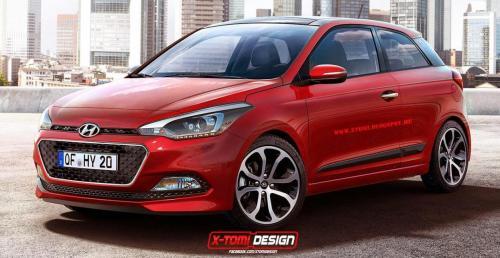 Niewiarygodnie Nowy Hyundai i20 w wydaniu trzydrzwiowym - wizualizacja LE07