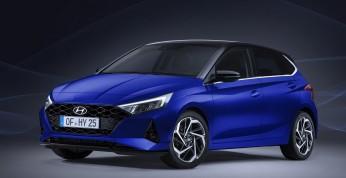 Hyundai i20 - fotografie wnętrza nowego hatchbacka
