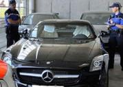 Mercedes SLS AMG skonfiskowany w Szwajcarii