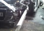 Audi R8 - przerażający wypadek
