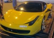 Ferrari 458 Italia - wypadek