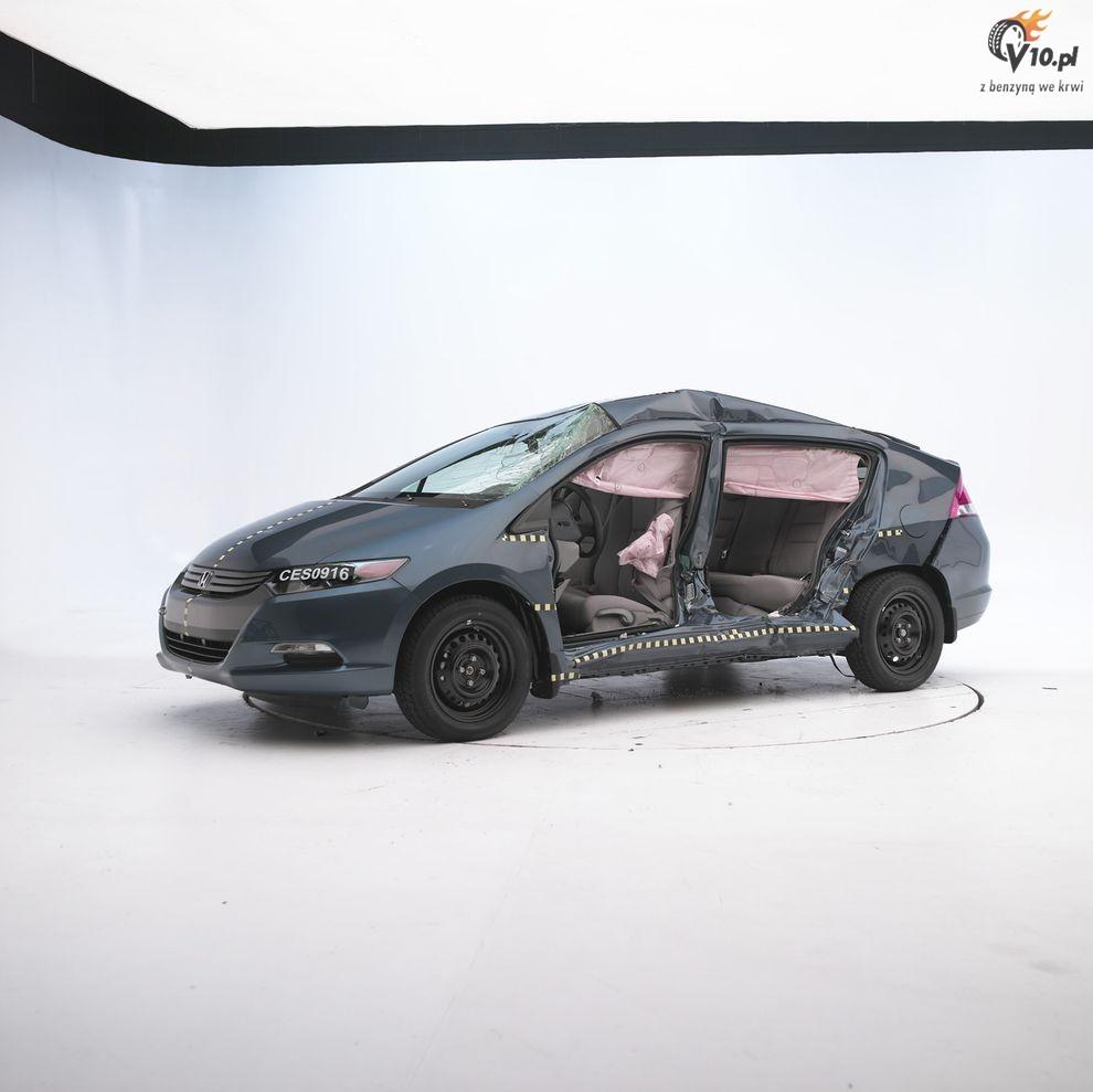 Crash Test Honda Insight 2010