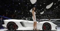 Salon Samochodowy w Pary�u bez Bentleya i Lamborghini