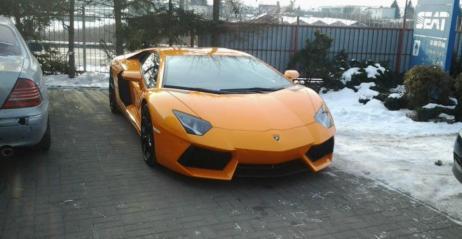 Lamborghini Aventador Pierwszy Egzemplarz Już W Polsce