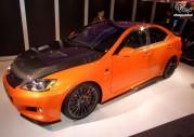Lexus IS-F Circuit Club Sport Concept - Tokyo Auto Salon 2010