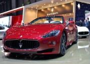 Maserati GranCabrio Sport na targach w Genewie