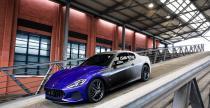 Ostatni egzemplarz Maserati GranTurismo w ciekawym malowaniu