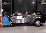 Nowa Mazda3 - test zderzeniowy EuroNCAP