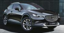 Mazda CX-4 Coupe na wizualizacji