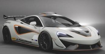 McLaren 620R - wyciekły zdjęcia torowej maszyny z homologacją...