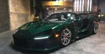 Pierwszy McLaren Senna trafił do USA. Superauto w zielonym carbonie