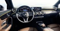 Nowy Mercedes klasy A - wnętrze warte uwagi