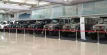 15 egzemplarzy Mercedesa G63 AMG 6x6 Brabus w jednym miejscu