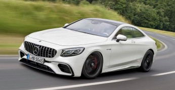 Mercedes S63 Coupe po faceliftingu (wideo)