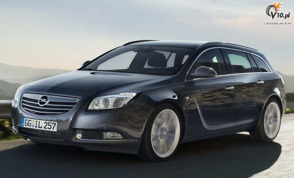 Opel Insignia Tourer. /aktualnosci/opel/insignia