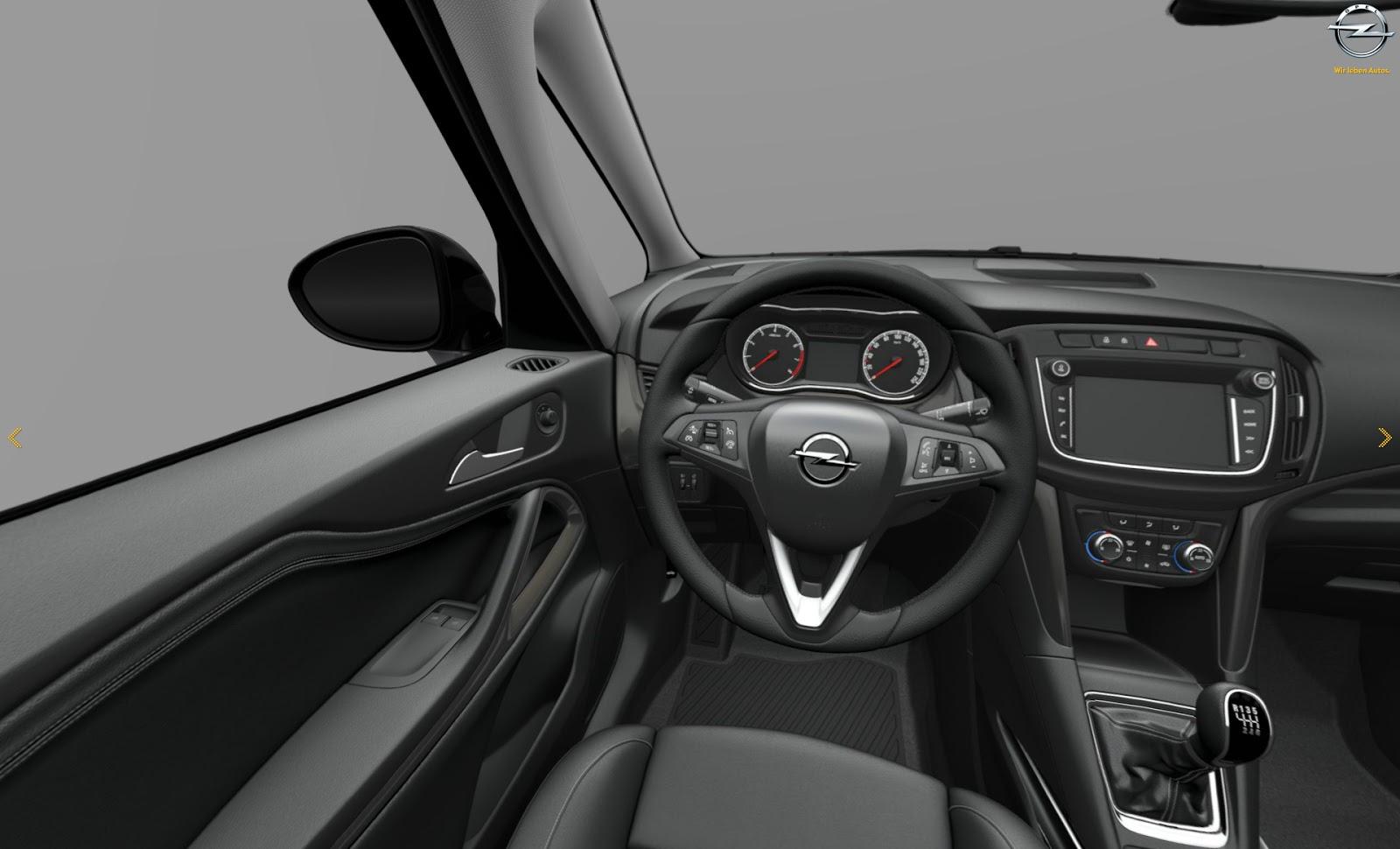 Opel zafira 2016 1 for Interieur zafira
