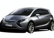 Nowy Opel Zafira 2012 - szkic