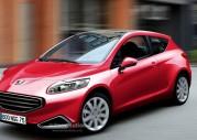 Nowy Peugeot 209 - wizualizacja