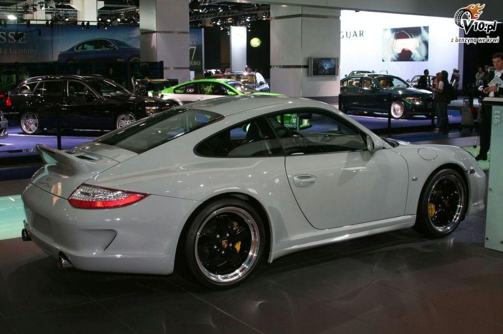 Nowe Porsche 911 Sport Classic - Frankfurt Motor Show 2009