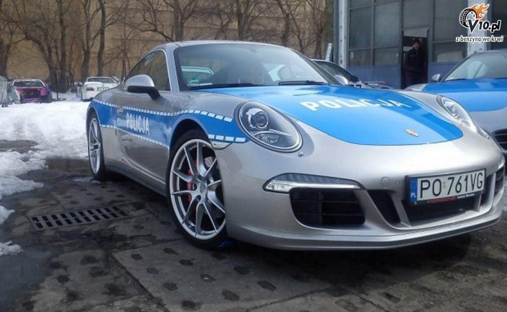 Porsche - Policja Audi Usa