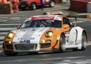 Porsche 911 GT3 R Hybrid podczas wyścigu