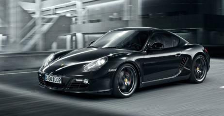 Porsche Cayman S Black Edition czarna piękność ujawniona