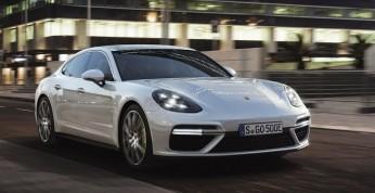 Porsche Panamera Turbo S E-Hybrid ustanowiła 6 rekordów na torach...