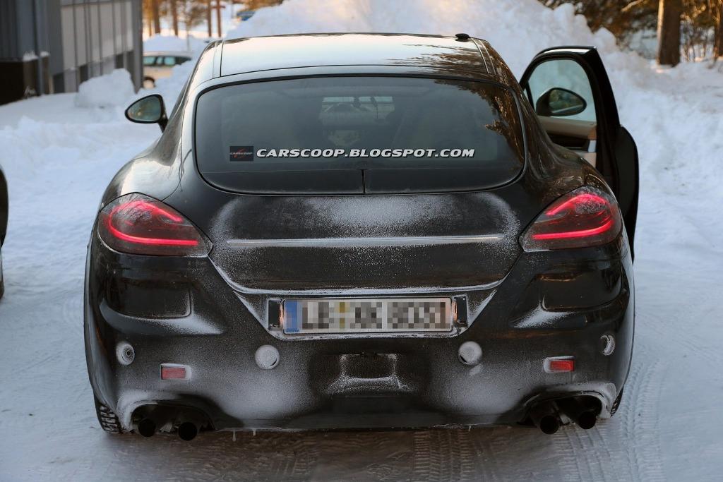 Шпионские фотографии прототипа Porsche…