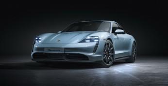 Porsche Taycan 4S - pokazano bazową wersję elektrycznej limuzyny