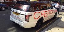 Range Rover pad� ofiar� zdradzonej kobiety